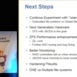 Lustre Plus ZFS at LLNL: Production Plans and Best Practices