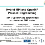 Online Tutorial: Hybrid MPI and OpenMP Parallel Programming