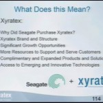 Xyratex Update from LUG 2014