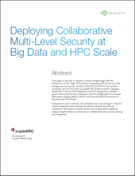 Download the Multilevel Security White Paper from the Editors of insideHPC